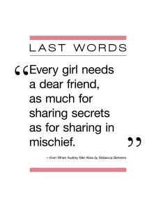 Middle Shelf_Last Words