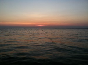 Sunsets on the sound