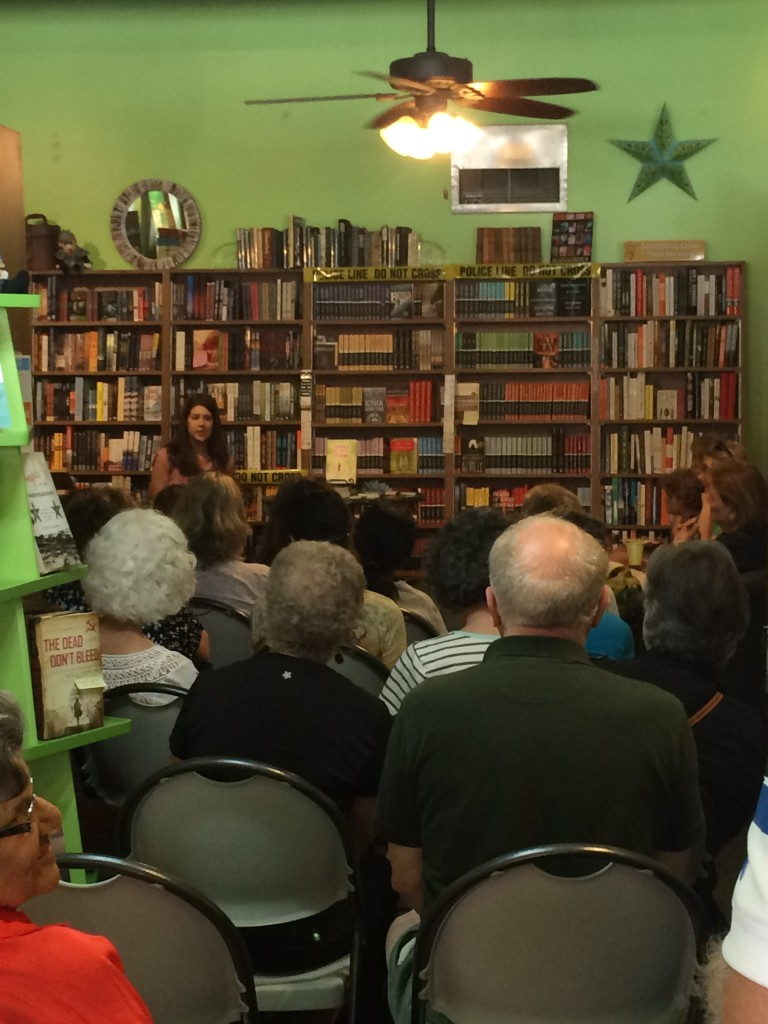 It was a great crowd--so many good questions.
